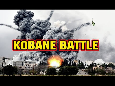 KOBANE BLOODY BATTLE- KURD COUNTERATTACK