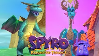 Original and Spyro Reignited Trilogy Comparisons of all 80 Dragons