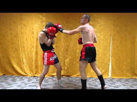 Тайский бокс Комбинации - Нокаут в печень