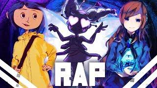 🔴Rap dos Bad End Friends 3 | Coraline - Star - Mabel | VMZ
