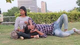 Sleeping prank on cute girls | Delhi girls reaction |super duper se upper