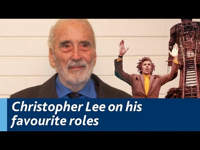 Christopher Lee on his favourite roles - Lord Summerisle, The Wicker Man and Muhammad Ali Jinnah