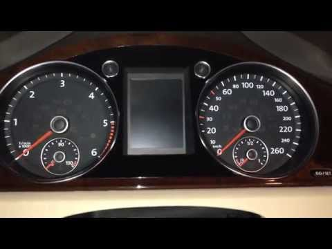 How to reset Oil Change and Service Inspection Reminder pop-up in a Volkswagen Passat B7 (2013)