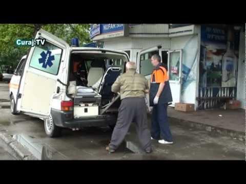 Intervenţie ciudată cu maşina de ambulanţă