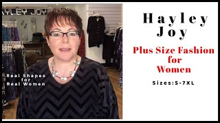Introducing the Hayley Joy Plus size collection.