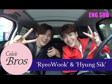 Ryeowook(Super Junior) & Hyungsik(ZE:A), Celeb Bros S3 EP1