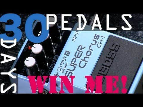 Boss CH-1 Super Chorus Bitesize Review - 30 Days, 30 Pedals - WIN!