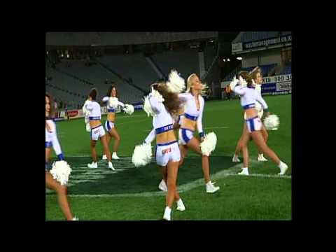 Blues cheerleader performance v Chiefs - Super Rugby Video Highlights - Blues cheerleader performanc