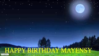 Mayensy  Moon La Luna - Happy Birthday