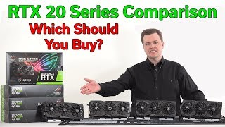 """Which RTX 20 Series GPU Should You Buy? — Where is """"The Deal""""? — 21 Benchmarks"""