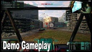 MechWarrior 5: Mercenaries - MechCon 2018 Demo Gameplay [HD 1080P]