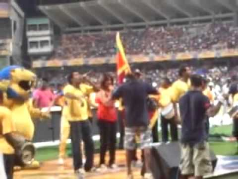Slpl 2012 Final (bathiya And Santhush Performing) video