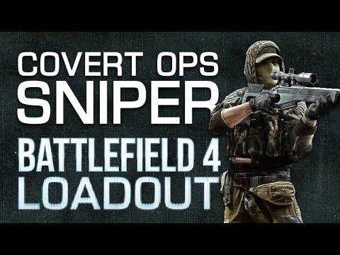 Battlefield 4 (BF4) M40A5 Loadout : Covert Ops Sniper