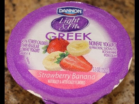 Dannon Light & Fit:Strawberry Banana Review