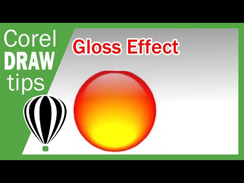 Gloss Effect in CorelDraw