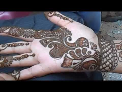How To Draw Arabic Mehendi Design-Beautiful Arabic Mehandi ...