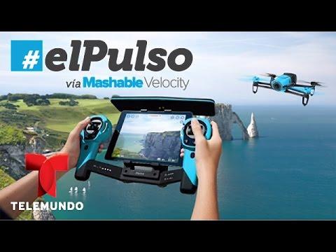 El Pulso   El extraño mundo del futuro:  Bebop drone de parrot y la llama que surfea