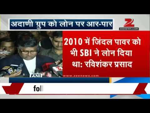 No govt role in SBI loan agreement with Adani: Ravi Shankar Prasad