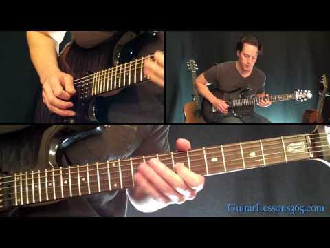 Fade To Black Guitar Lesson Pt.4 - Metallica - Outro Solo