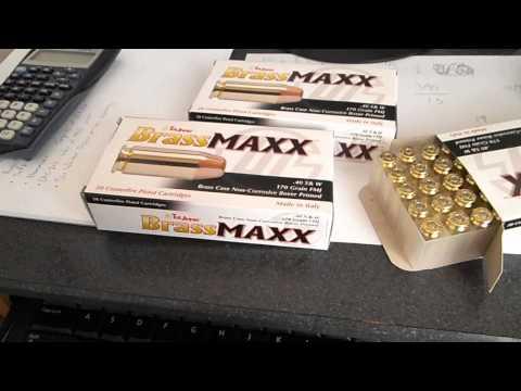 TulAmmo Brass Maxx Ammo!!