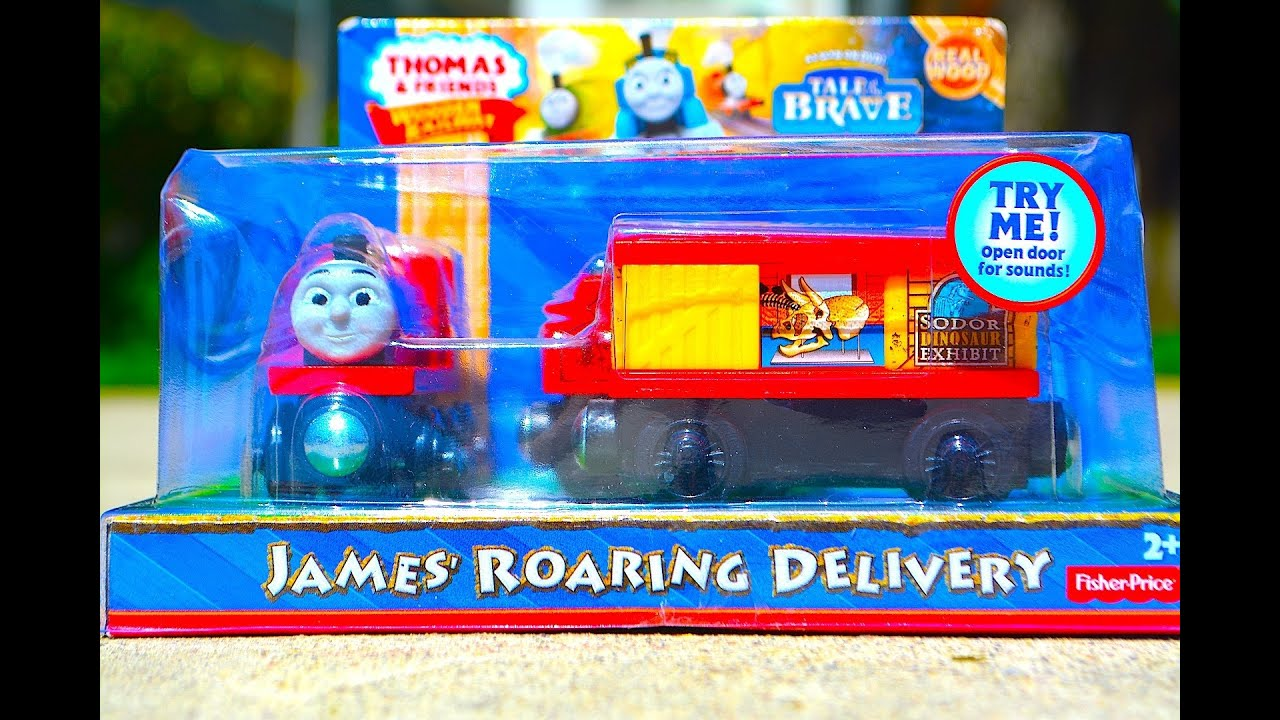 ... ROARING DELIVERY 3 Pack Mattel Fisher Price Toy Train Review - YouTube
