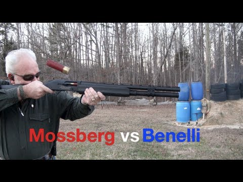 Mossberg vs Benelli