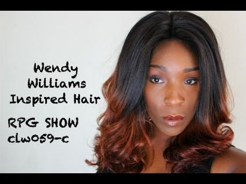 Wendy Williams Inspired Full Lace Wig : CLW059-c  Ombre