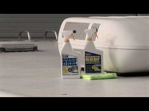 Rv Rubber Amp Tpo Roof Care Youtube