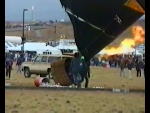 Hot Air Balloon Fire Accident by Michael Wulf Video