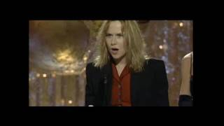 Amy Madigan Wins Best Supporting Actress TV Series - Golden Globes 1990