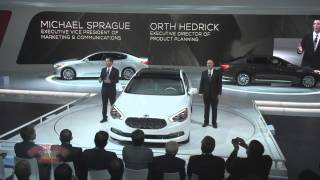2013 LA Auto Show - Kia Presentation with K900 Sedan