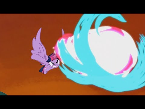 The Fight Between Twilight And Tirek – My Little Pony: Friendship Is Magic – Season 4