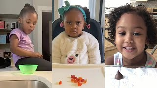 Best Don't Eat It Challenge (Fruit Snack Challenge) Testing the kid's Patience