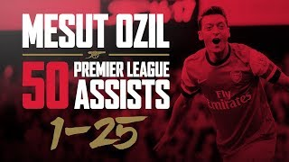 ALL of Mesut Ozil's 50 Premier League assists - part one