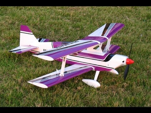 RC MODEL NITRO PLANES ULTIMATE BIPE 40 ARF AIRCRAFT VIDEO by Roy Dawson Realtor DFW