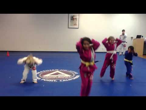 Barra Kids Jiu-Jitsu: Animal Races Drill Image 1