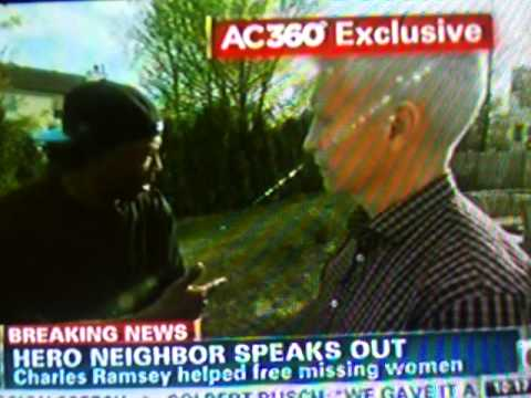 Charles Ramsey Anderson Cooper Interview Part 2
