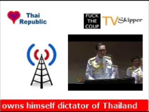 General Prayuth Crowns Himself PM of Thailand
