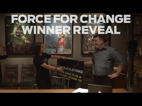 Star Wars: Force For Change Winner Reveal