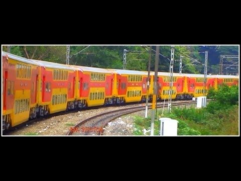Indian Railways : Complete Journey By Double Decker : Bangalore - Chennai