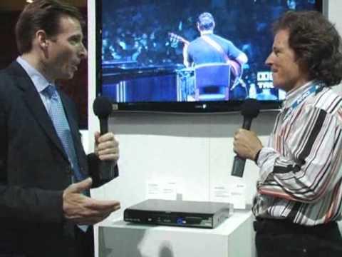Sharp BD-HP20 Blu-ray Player (CEDIA EXPO 2007)