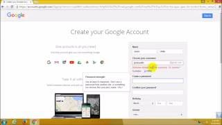 How to create an Email account  Bangla tutorial