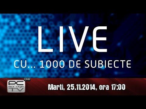 LIVE cu... 1000 de subiecte!