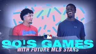 Future MLB Stars Play Bop-It and Other Classic 90s Games!