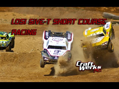 LOSI 5IVE-T (5T) 1/5 SCALE SHORT COURSE RACING!!