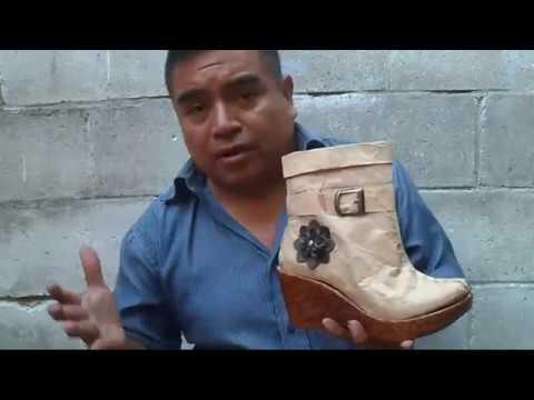 Como hacer el patronaje para bota alta de mujer artesanalmente