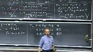 Lec 08: Frictional Forces | 8.01 Classical Mechanics, Fall 1999 (Walter Lewin)