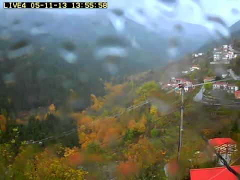 Φυλακτή Καρδίτσας 5-11-13 ρομποτική κάμερα βροχερός καιρός - fylakti.com