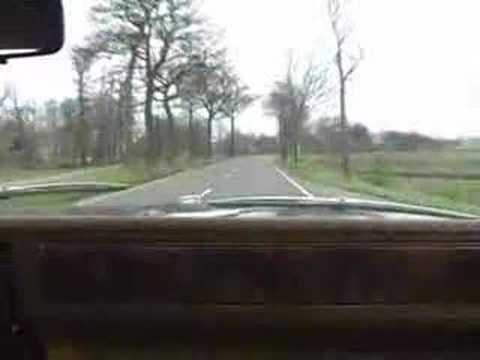 Driving with my chevy Nova 6.5 turbo diesel engine; 95 6.5 diesel with 4L80e