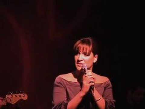 Shoshana Bean sings Scott Alans HOME - Live @ Birdland